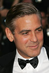 George Clooney at the Cannes premiere of