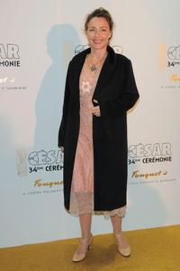 Catherine Frot at the Cesar Film Awards 2009.