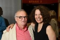 J.R. Horne and Leslie Ayvazian at the opening night of