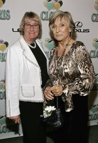 Kathryn Joosten and Cloris Leachman at the celebration of Cloris Leachman's 60 years in show business.