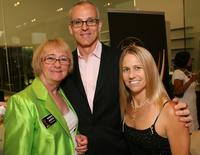 Kathryn Joosten, Ray Proscia and Nancy Thurston at the 59th Primetime Emmy Nominee Reception for Outstanding Art Direction.