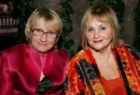 Kathryn Joosten and Gail Abbott at the 2006 Creative Arts Awards after party.