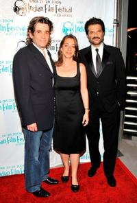 Alan Rosenberg, Christina Marouda and Anil Kapoor at the world premiere of