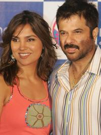 Lara Dutta and Anil Kapoor at the promotion of