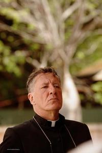 Geoffrey Rush as Father Benedictus in
