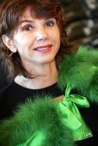 Victoria Abril at the start of a campaign by French charity association