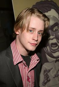 Macaulay Culkin at the special performance of