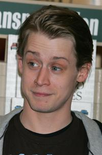 Macaulay Culkin at the signing for his new book