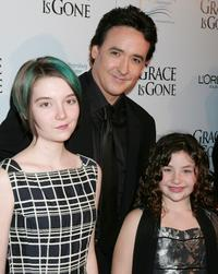 John Cusack, Shelan O'Keefe and Gracie Bednarczyk at the premiere of