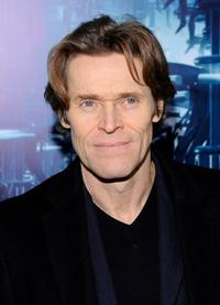 Willem Dafoe at the New York premiere of