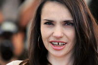 Beatrice Dalle at the 57th International Cannes Film Festival for the photocall of