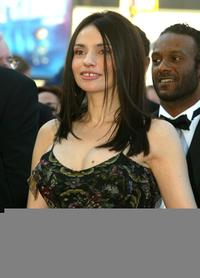 Beatrice Dalle at the screening of