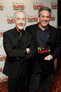 Anthony Daniels and Rick McCallum at the Sony Ericsson Empire Film Awards 2006.