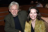 Bruce Davison and Michele Correy at the post party following a live reading of the screenplay