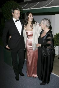 Judi Dench, Caterina Murino and Mads Mikkelsen at the Casino Royale After Party.