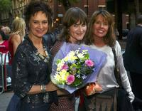 Francesca Annis, Sophie Fiennes and Giselle Getty at the UK Charity Premiere of her documentary