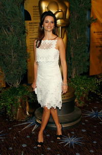 Penelope Cruz at the 79th annual Academy Award nominee's luncheon in Beverly Hills.