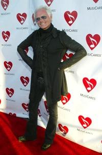 Michael Des Barres at the Musicares Benefit.