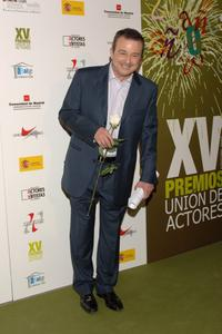 Juan Diego at the 15th Actors Union Awards Ceremony.
