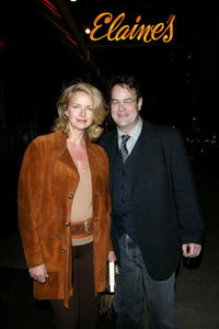 Donna Dixon and Dan Aykroyd at the launch of Linda Bruckheimer's latest novel