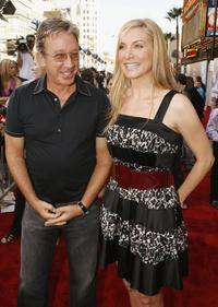 Tim Allen and Beverly Mitchell at the Los Angeles premiere of