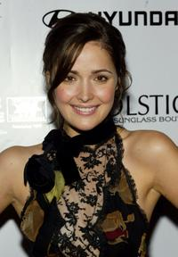 Rose Byrne at the Movielines Hollywood Life 2004 Breakthrough Awards.