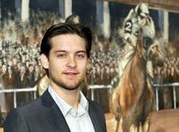Tobey Maguire at the screening of