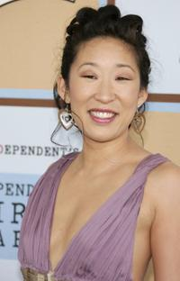 Sandra Oh at the Film Independent's 2006 Independent Spirit Awards.