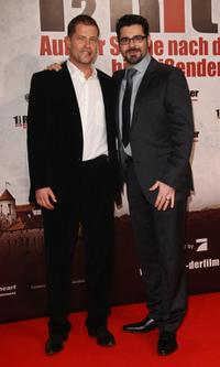 Til Schweiger and Rick Kavanian at the Berlin premiere of