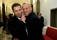 Til Schweiger and Wotan Wilke Moehring at the Bavarian Film Awards 2008.