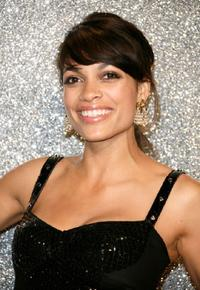 Rosario Dawson at the Dolce and Gabbana Party during the 60th International Cannes Film Festival.