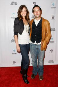 Gloria Votsis and Christopher Marquette at the screening of