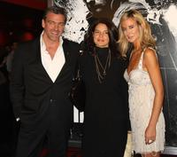 Ray Stevenson, Guest and Lady Victoria Hervey at the screening of