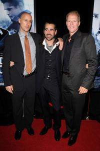Director Gavin O'Connor, Colin Farrell and Noah Emmerich at the New York premiere of