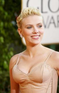 Scarlett Johansson at the 61st Annual Golden Globe Awards.