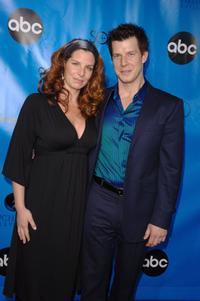 Eric Mabius and his wife Ivy Mabius at the Disney/ABC Television Group All Star Party.