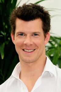Eric Mabius at the photocall promoting the television series