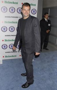 Jonny Lee Miller at the party of Chelsea Football Club.