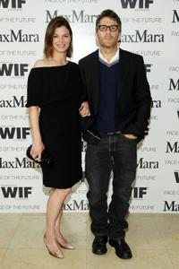 Jeanne Tripplehorn and Leland Orser at the Women In Film's MaxMara
