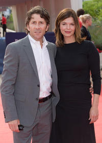 Leland Orser and Jeanne Tripplehorn at the premiere of