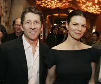 Jeanne Tripplehorn and Leland Orser at the after party of the premiere of