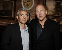 Daniel Battsek and Mike Judge at the after party of the premiere of