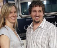 Katie Soter and Paul Soter at the premiere of