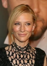 Cate Blanchett at the G'Day USA Penfolds Black Tie Icon Gala.