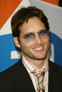 Peter Facinelli at the after party for the Fox primetime program schedule announcements for 2004-2005.