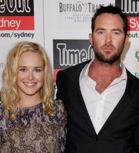 Krew Boylan and Sullivan Stapleton at the premiere of