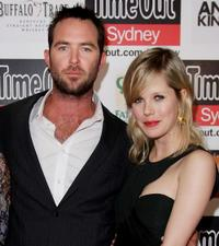 Sullivan Stapleton and Alyssa McClelland at the premiere of