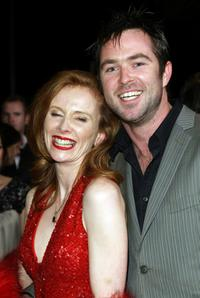 Alison Whyte and Sullivan Stapleton at the Melbourne International Film Festival.