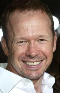 Donnie Wahlberg at the premiere of
