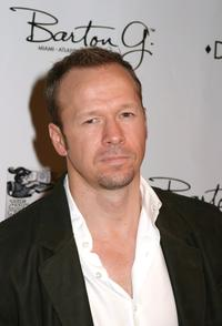 Donnie Wahlberg at the opening of Donald J Pliner LA Flagship Boutique.